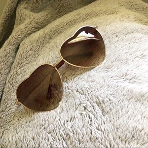 Accessories - Heart Shape Sunglasses